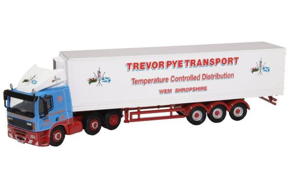 OXFORD 1/76scale DAF 85 Short Fridge Trailer Trevor Pye  [No.OX76DAF004]