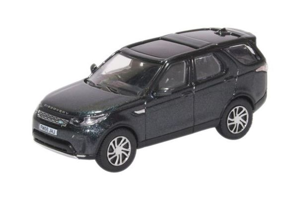 OXFORD 1/76scale Land Rover Discovery 5 HSE LUX Black Santorini Black  [No.OX76DIS5002]