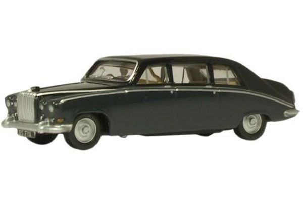 OXFORD 1/76scale Daimler DS420 Embassy Black/Carlton Grey  [No.OX76DS003]