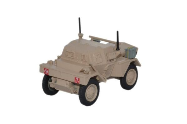 OXFORD 1/76scale Dingo Scout Car 5th RTR 4th Arm.Brg 7thArm.Div. Libya 1942  [No.OX76DSC006]