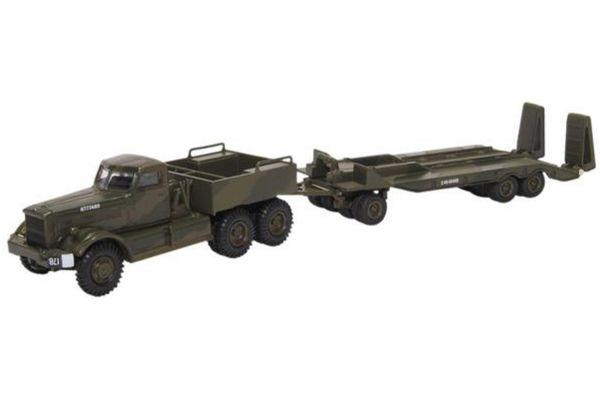 OXFORD 1/76scale Diamond T Tank Transporter 21st Army Tank Brigade 1942  [No.OX76DT005]