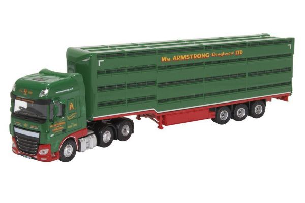 OXFORD 1/76scale DAF XF William Armstrong Houghton Parkhouse Livestock Trailer  [No.OX76DXF003]
