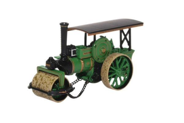 OXFORD 1/76scale Fowler Steam Roller No.18873 City of Truro  [No.OX76FSR005]