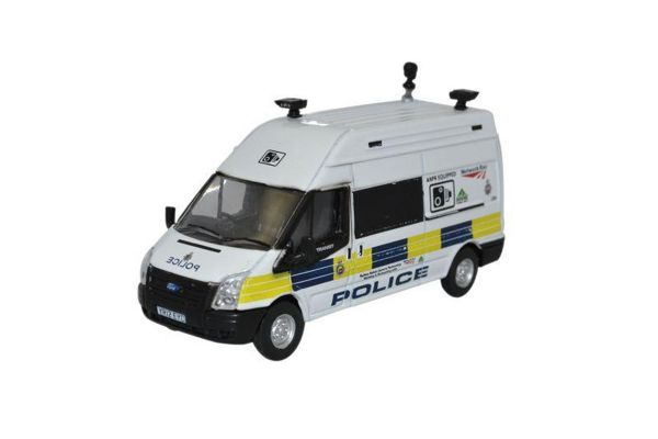 OXFORD 1/76scale Ford Transit LWB High Network Rail Speed Camera  [No.OX76FT026]