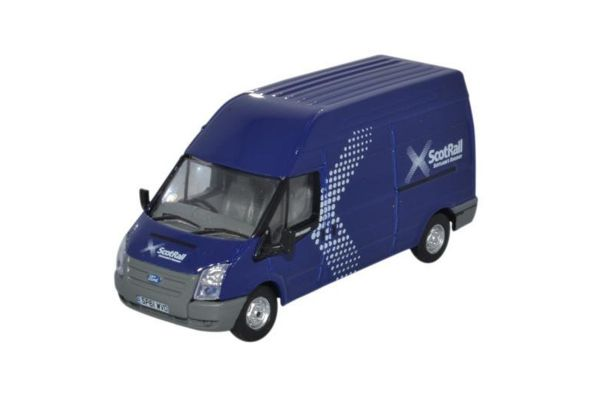 OXFORD 1/76scale Ford Transit Mk 5 LWB High Scotrail Blue  [No.OX76FT028]