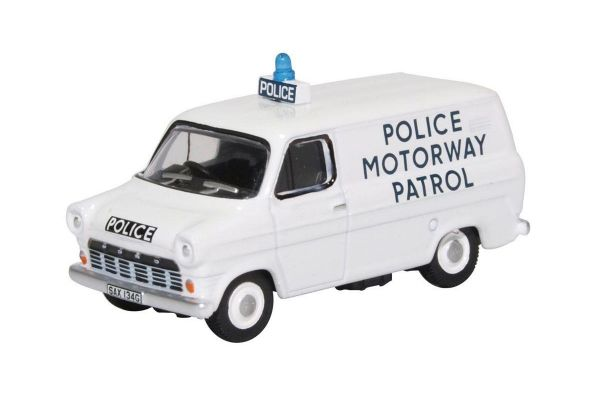 OXFORD 1/76scale Ford Transit Kk1 Police Motorway Patrol Gwent  [No.OX76FT1007]