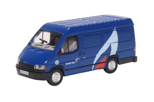 OXFORD 1/76scale Ford Transit Mk3 British Gas  [No.OX76FT3008]