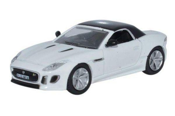 OXFORD 1/76scale Jaguar F Type Polaris White  [No.OX76FTYP2]
