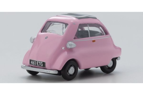 OXFORD 1/76scale BMW Isetta Pink  [No.OX76IS003]