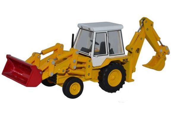 OXFORD 1/76scale JCB 3CX (1980s) JCB  [No.OX76JCX001]