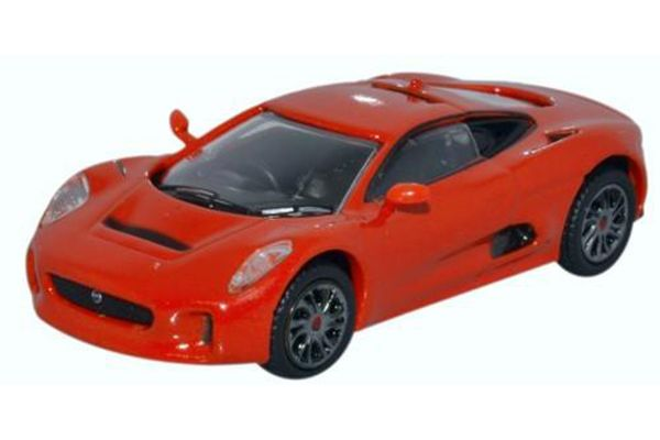 OXFORD 1/76scale Jaguar C-X75 Prototype Orange  [No.OX76JCX7502]