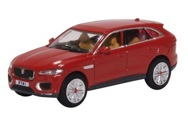 OXFORD 1/76scale Jaguar F Pace Italian Racing Red  [No.OX76JFP003]