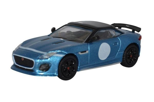 OXFORD 1/76scale Jaguar F Type Project 7 Ultra Blue  [No.OX76JFT002]