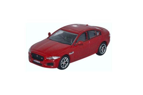 OXFORD 1/76scale Jaguar XE Italian Red  [No.OX76JXE001]
