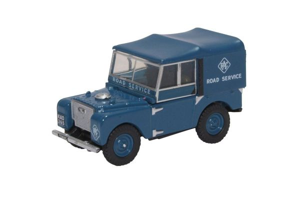 OXFORD 1/76scale Land Rover Series I 80 Hard Top RAC  [No.OX76LAN1806]