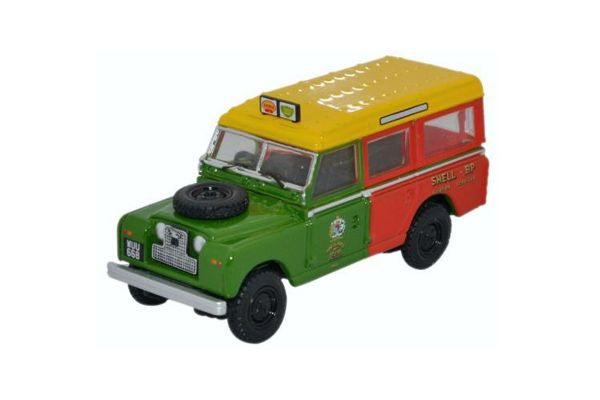 OXFORD 1/76scale Land Rover Series II Station Wagon Shell / BP [No.OX76LAN2013]