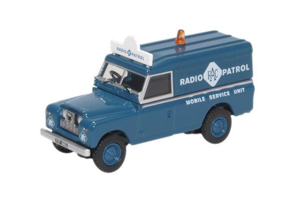 OXFORD 1/76scale Land Rover Series II LWB Hard Top RAC Radio Patrol  [No.OX76LAN2017]