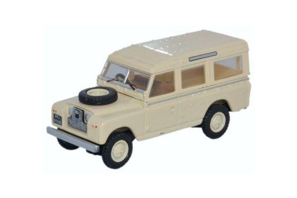 OXFORD 1/76scale Land Rover Series II SWB Station Wagon Pastel Green  [No.OX76LAN2019]