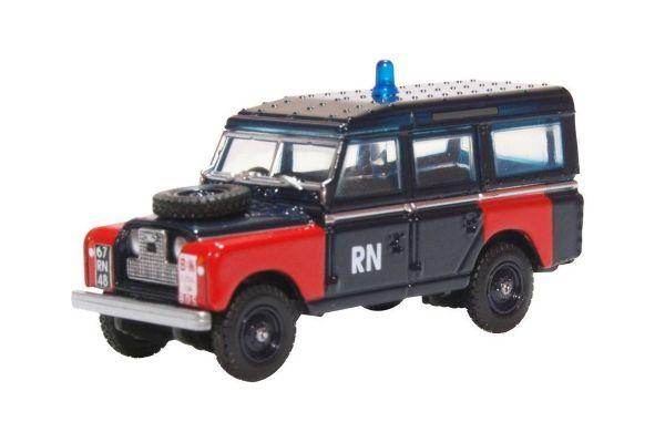 OXFORD 1/76scale Land Rover Series II Lwb Station Wagon Royal Navy Bomb  [No.OX76LAN2021]