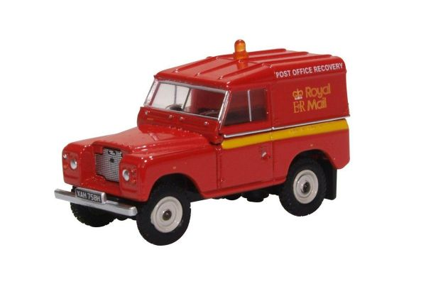 OXFORD 1/76scale Land Rover Series IIA SWB Hard Top Royal Mail (PO Recovery)  [No.OX76LR2AS02]