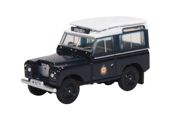OXFORD 1/76scale Land Rover Series II Hong Kong Police  [No.OX76LR2AS04]