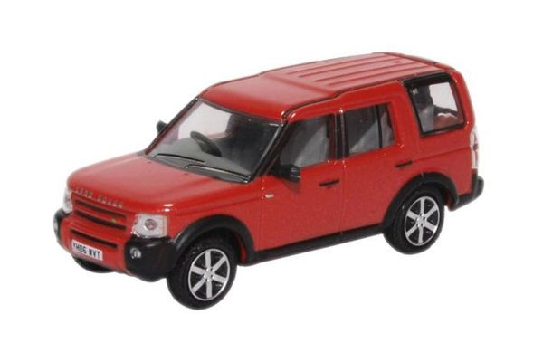 OXFORD 1/76scale Land Rover Discovery 3 Rimini Red Metallic  [No.OX76LRD008]