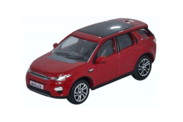 OXFORD 1/76scale Land Rover Discovery Sports Firenze Red  [No.OX76LRDS002]