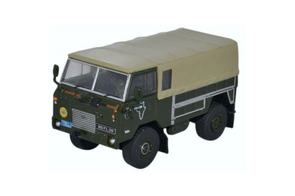 OXFORD 1/76scale Land Rover FC GS 1974 Trans Sahara Expedition  [No.OX76LRFCG01]