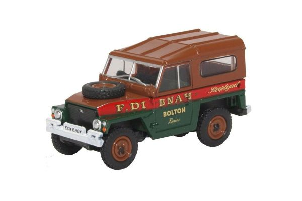 OXFORD 1/76scale Land Rover Lightweight Hard Top Fred Dibnah  [No.OX76LRL006]