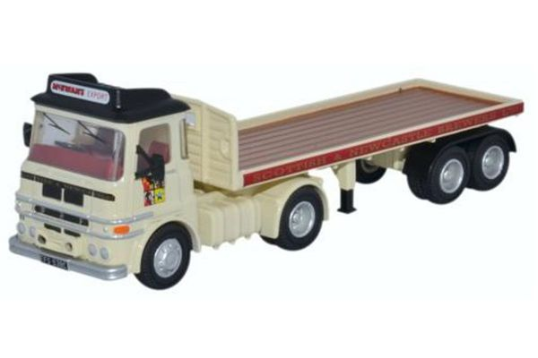 OXFORD 1/76scale ERF LV Flatbed Trailer Scottish & Newcastle  [No.OX76LV005]