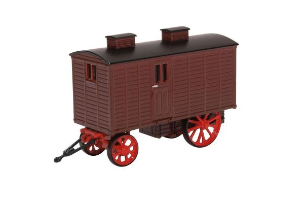 OXFORD 1/76scale Living Wagon Maroon Red  [No.OX76LW001]