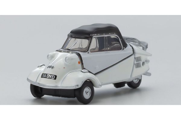 OXFORD 1/76scale Messerschmitt Bubble Car Polar White  [No.OX76MBC005]