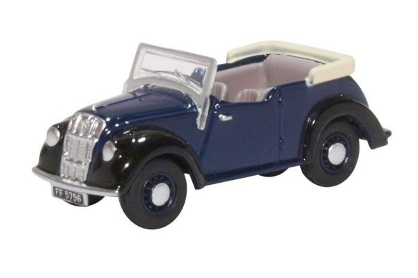 OXFORD 1/76scale Morris Eight E Series Tourer Dark Blue  [No.OX76ME006]