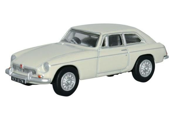 OXFORD 1/76scale MGB GT Glacier White  [No.OX76MGBGT03]