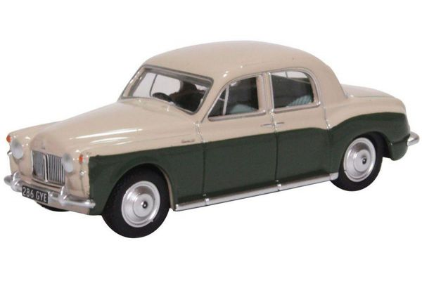 OXFORD 1/76scale Rover P4 Stone Grey and Juniper Green  [No.OX76P4004]