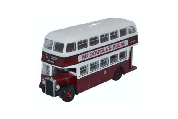 OXFORD 1/76scale Leyland PD2/12 Edinburgh Double Decker Bus [No.OX76PD2005]