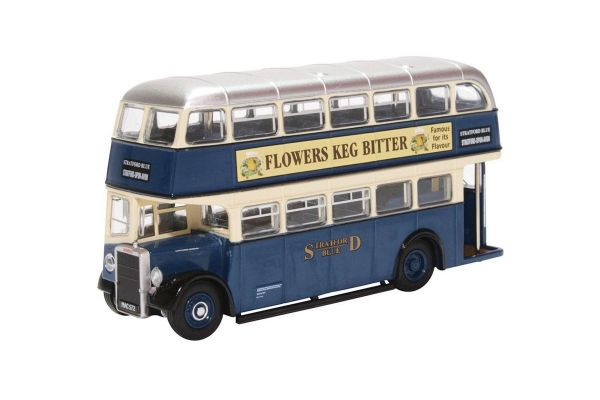 OXFORD 1/76scale Leyland PD2/12 Stratford Blue (2 stories bus)  [No.OX76PD2006]