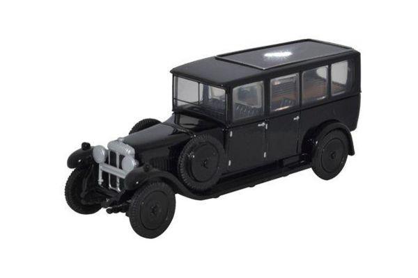 OXFORD 1/76scale Daimler Hearse Black  [No.OX76RDH001]