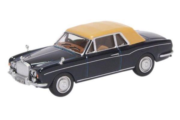 OXFORD 1/76scale Rolls Royce Corniche Indigo Blue  [No.OX76RRC001]