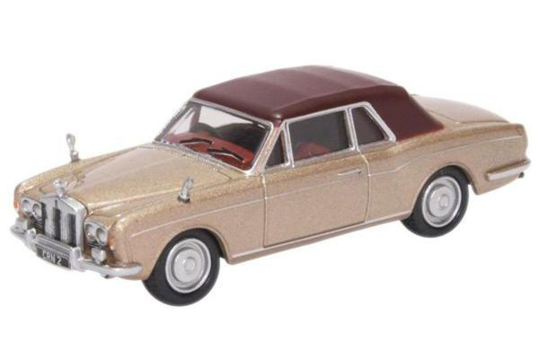 OXFORD 1/76scale Rolls Royce Corniche Persian Sand  [No.OX76RRC002]