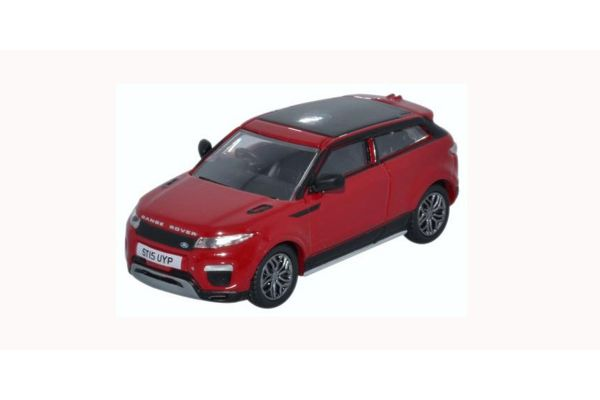 OXFORD 1/76scale Range Rover Evoque Facelift Firenze Red  [No.OX76RRE001]