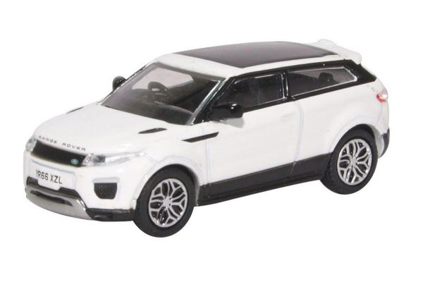 OXFORD 1/76scale Range Rover Evoque Coupe Facelift Fuji White  [No.OX76RRE002]