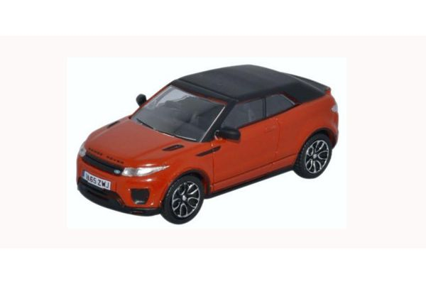 OXFORD 1/76scale Range Rover Evoque Convertible Phoenix Orange  [No.OX76RREC001]