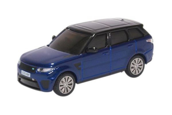 OXFORD 1/76scale Range Rover Sport SVR Estoril Blue  [No.OX76RRS001]