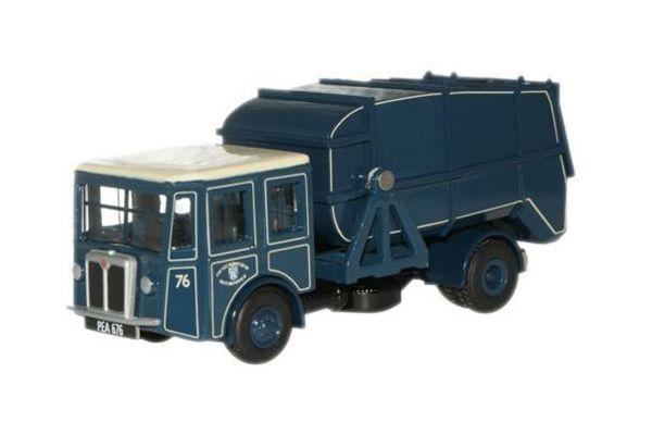OXFORD 1/76scale West Bromwich Shelvoke & Drewry Dustcart (Blue)  [No.OX76SD002]