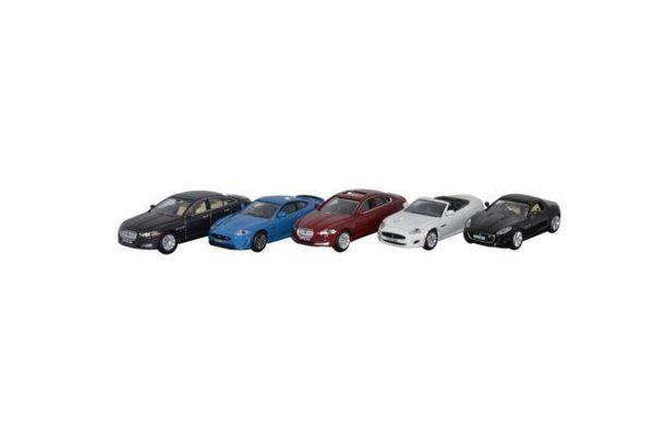 OXFORD 1/76scale Jaguar 5cars set (XJ / XKR-S / XF / XK / F)  [No.OX76SET18]