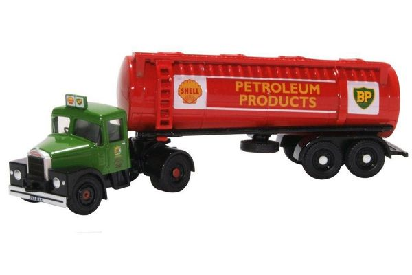 OXFORD 1/76scale Scammell Highwayman Tanker Shell BP  [No.OX76SHT001]