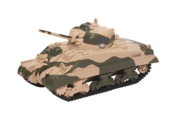 OXFORD 1/76scale Sherman Tank Mk III 10th Armoured Division 1942  [No.OX76SM001]