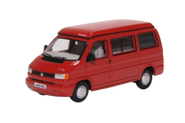 OXFORD 1/76scale VW T4 Westfalia Camper Paprika Red  [No.OX76T4001]