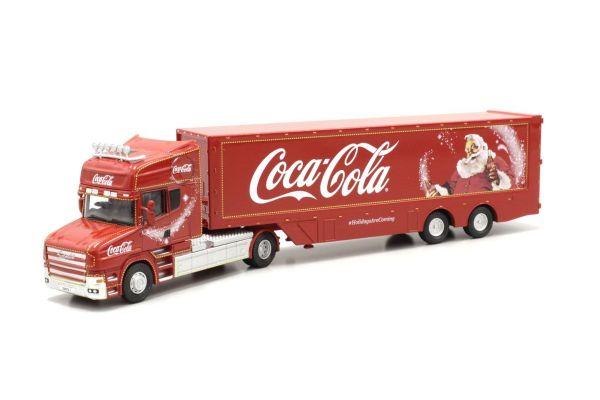 OXFORD 1/76scale Coca Cola T Cab Box Trailer   [No.OXTCAB04CC]
